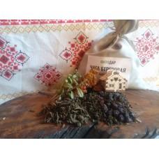 Чага с Иван-чаем и сушённой вишней. 0.5 кг.