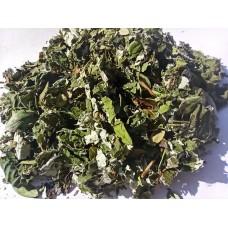 """Чай """"Жемчужина Карелии"""" (Иван-чай, брусничный лист, лист малины, ромашка, черника в ягодах), 100 грамм"""